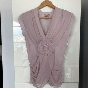 Romantic flowy soft feminine top
